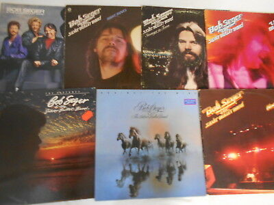 Bob Seger And The Silver Bullet Band - Sammlung 9 LP's