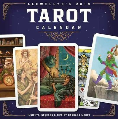Llewellyn's 2019 Tarot Calendar Official New & Sealed Square Wall