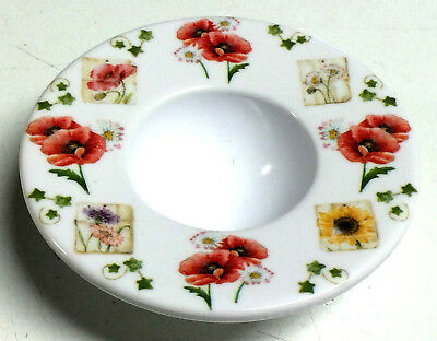 Egg Cup With Flowers Print Flowers Design Small Egg Cup