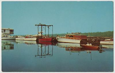 Greenville Yacht Club and Dock on Lake Ferguson, Greenville, Mississippi 1950's