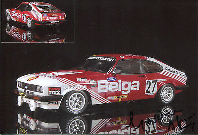 Gordon Spice Ford Capri III 3.0 S Belga Team Sieger 24h Spa 1978 Top Foto 10x15