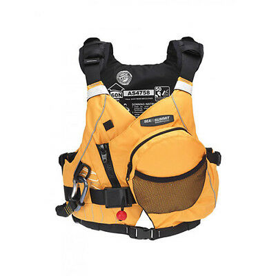 M/L Sea to Summit Leader Rescue Life Jacket Level 50 Vest Kayak White Water PFD