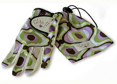 Nuovo Signore Glove It Orchidea Scanalatura Golf Guanto. Taglia L