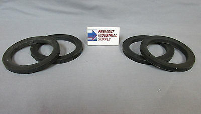 "(Qty of 4) 4"" cam lock cam & groove fitting NBR gasket"