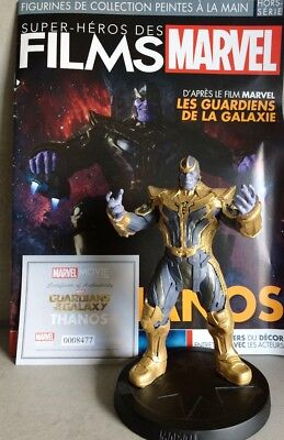 MARVEL MOVIE COLLECTION SPECIAL #4 THANOS FIGURINE GUARDIANS OF GALAXY french