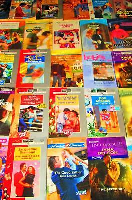 HARLEQUIN and SILHOUETTE Mixed Romance Lot of 26 - SOFTCOVERS
