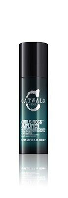 TIGI Curls Rock Amplifier 5.07 oz / 150 ml provides hold and control humidity
