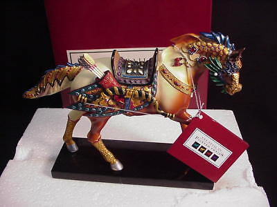 The Trail Of Painted Ponies - Dynasty Pony By Jeffrey Chan New In Box