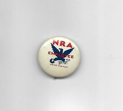 Franklin Roosevelt Related National Recovery Administration Employee Pin