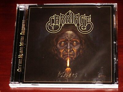 Carriage: Visions CD 2018 Stormspell Records USA SSR-DL-234 NEW