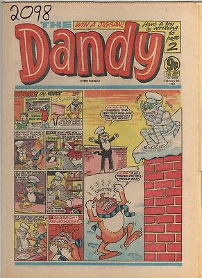 THE DANDY No 2098 FEBRUARY 6th 1982 GOOD TO FAIR CONDITION