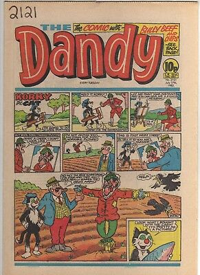 THE DANDY No 2121 JULY 17th 1982 GOOD TO FAIR CONDITION