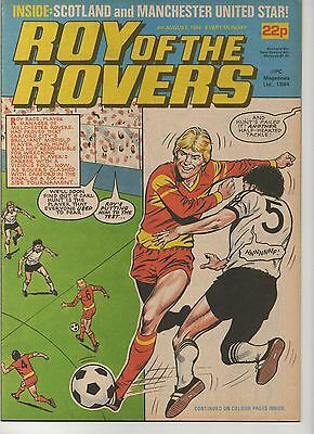 ROY OF THE ROVERS 4th AUGUST 1984 EXCELLENT CONDITION