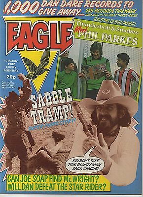 EAGLE COMIC - NUMBER 17 - 17th JULY 1982 VERY GOOD CONDITION