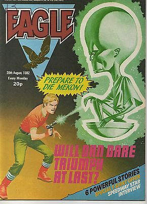 EAGLE COMIC - NUMBER 23 - 28th AUGUST 1982 - VERY GOOD CONDITION