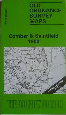 Old Ordnance Survey Maps Comber & Saintfield Ireland 1900 Sheet 37