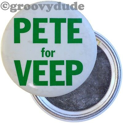 1976 Pete for Veep VP Mayor Flaherty Political Campaign PA Pin Pinback Button