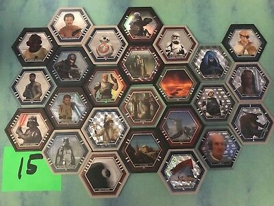 Topps Star Wars Galactic Connexions 25 different Discs ADMIRAL ACKBAR + lot #15