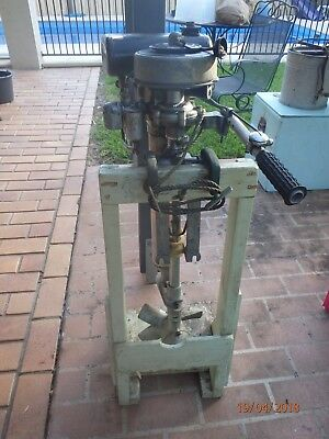 Seagull Sea Gull Outboard Out Board Motor Vintage original Condition with tools