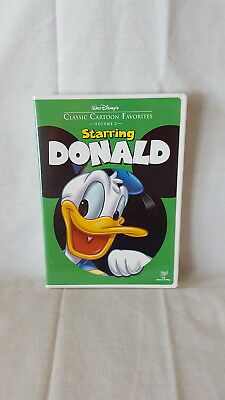 Walt Disneys Classic Cartoon Favorites Starring Donald Vol. 1  ( DVD, 2005) OOP