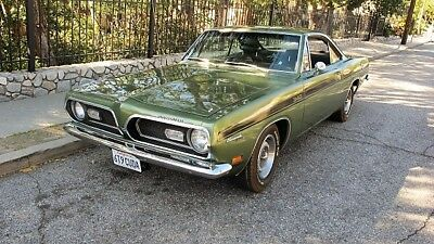 1969 Plymouth Barracuda FORMULA S 1969 Plymouth Barracuda Formula S 340 4 Speed Notchback 1 of 2 Built Special!