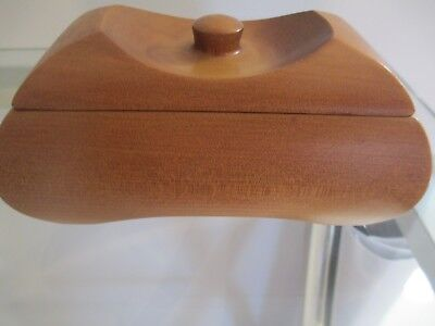 Beautifully Hand Crafted Kauri Oblong Trinket Box - Corporate Gift