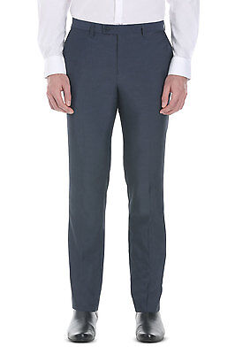 NEW & TAG Myer Kenji Stockholm Trouser Pants formal casual Navy sz 28 RRP $80