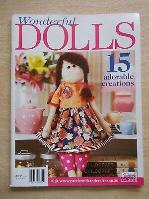 Wonderful Dolls~15 Projects~Mermaid~Angels~Abby Rose~Maya~Adeline~Paige~Melly