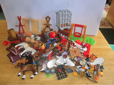 Playmobil - 1 Large Bundle Of Bits And Bobs