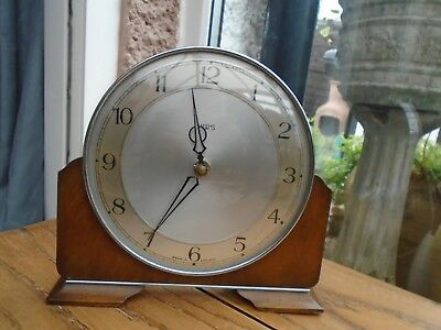 Vintage Art Deco Smiths Mantel Clock  Spares and Repairs