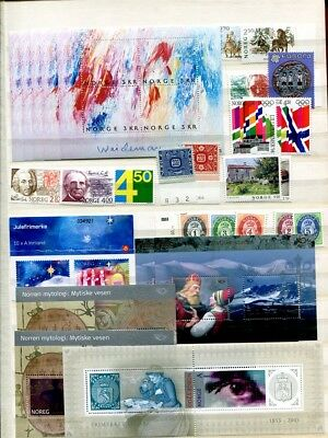 Norwegen ** Frankaturware 2741,-NOK Norway mint stamps MNH