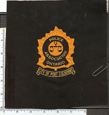 for sale , 1 vintage  Police Association of Ontario crest as found.