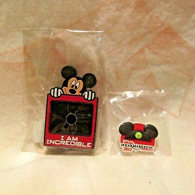 Disney 2013 EarMarked Conference Bandit & Slider for MagicBand NEW IN PACKAGE