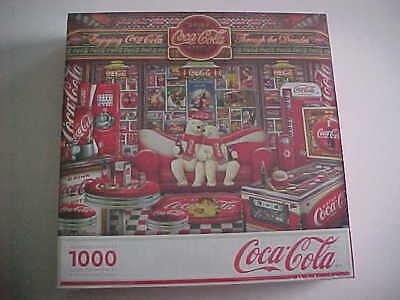 "Coca-Cola Springbok 1000 Piece Puzzle ""Decades"""
