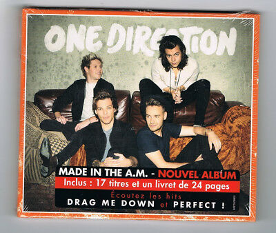One Direction - Made In The A.m. - Cd 17 Titres + Livret 24 Pages - Neuf New