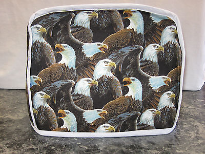 Lots of Eagles cotton fabric Handmade 2 slice toaster cover (ONLY)