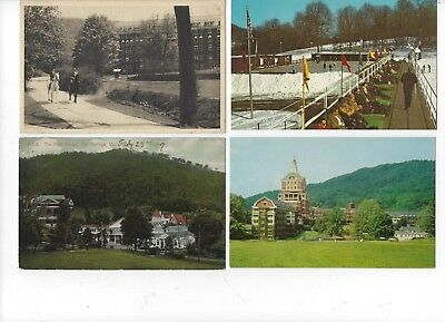Hot Springs, VA - Lot of 7 postcards of The Homestead