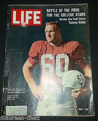 December 10, 1965 LIFE Magazine 60s Advertising ads add ad  FREE SHIPPING Dec 12