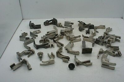 Lot of 30+ Vintage Sewing Machine Feet - Most are Singer