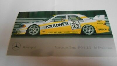 Aufkleber Mercedes DTM  190E 2,5-16 Evolution  Kärcher