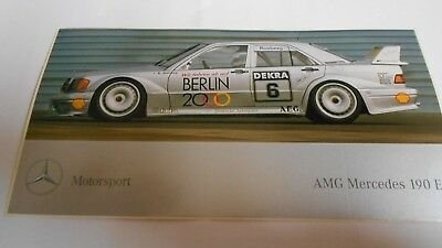 Aufkleber Mercedes DTM  190E 2,5-16 Evolution  Berlin 2000