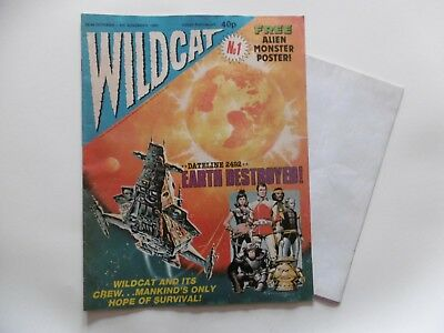 'Wildcat' Comic, No.1, October 28th 1988 with Free Gift.