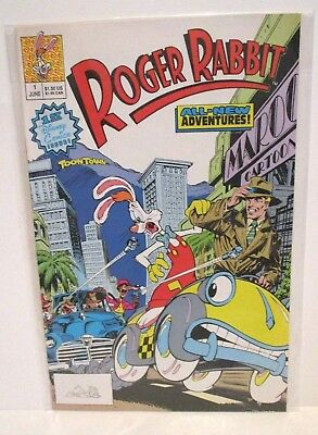 Roger Rabbit All-New Adventures Issue 1 June 1990 First Disney Comics Issue