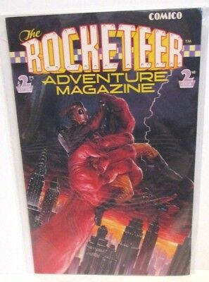 Comico Rocketeer Adventure Magazine Comic Book Issue 2 July 1989 Dave Stevens