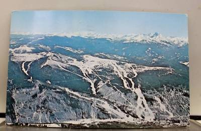 Colorado CO Holy Cross Mount Vail Village Mountain Ski Postcard Old Vintage Card