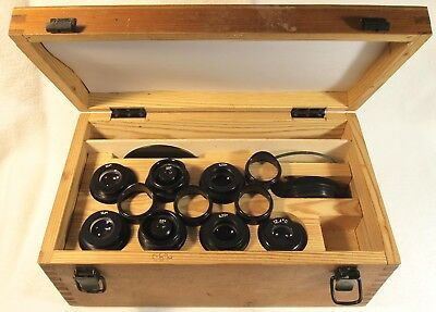 Boxed Set of Eyepieces for LOMO MBS-200 or MCCO Stereo Microscopes (d = 40mm)