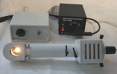 LOMO Microscope Lamp OI-35 for Köhler Illumination with Variable Power Supply
