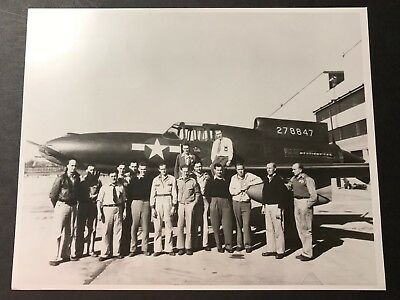 1944 Photo- Curtis Wright Xp55-Ascender With Flight Team
