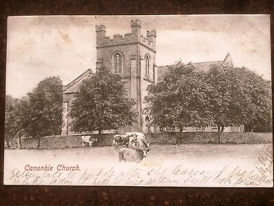 Canonbie Church.  USED  1904 & Stamped  VERY CLEAN