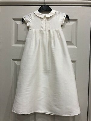 Heirloom Collection By John Lewis Unisex Long Gown - Size 6-9 Months - Rrp £55